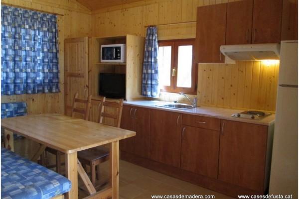 Cabañas de madera en Canadian Nordic House 9087