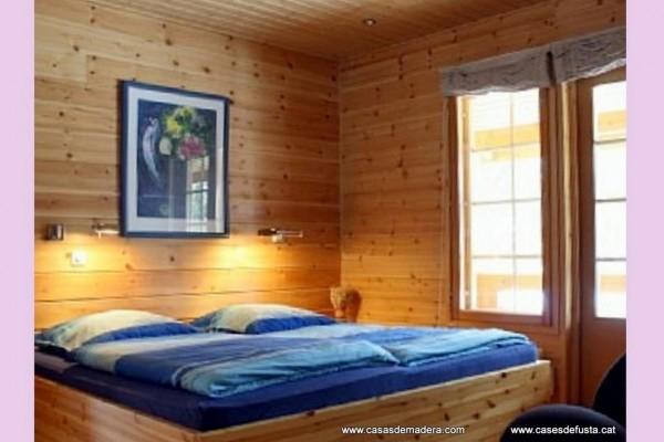 Cabañas de madera en Canadian Nordic House 9108