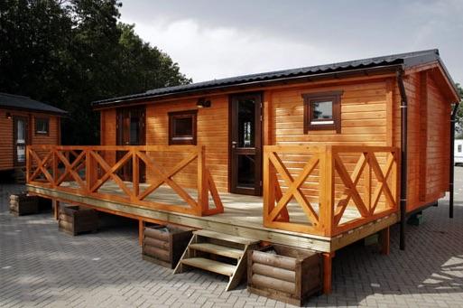 Cabañas de madera en La Casa Prefabricada 8656