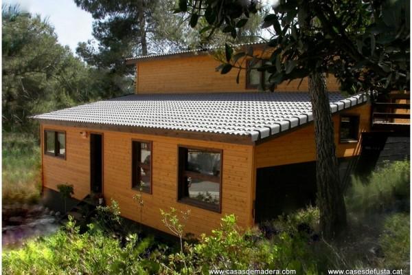 Casas de madera en Canadian Nordic House 8946
