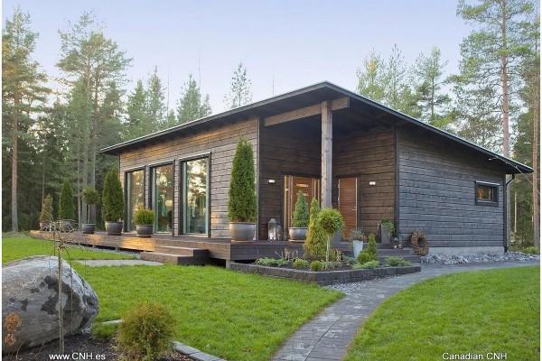 Casas de madera en Canadian Nordic House 8945