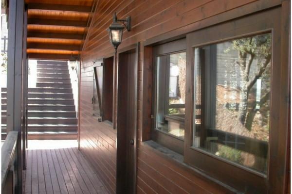 Casas de madera en Canadian Nordic House 8943