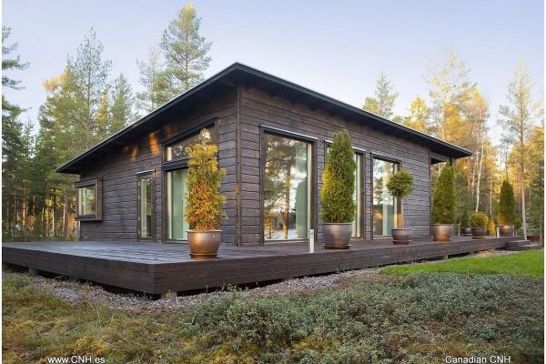 Casas de madera en Canadian Nordic House 8941