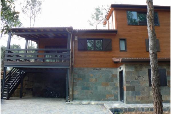 Casas de madera en Canadian Nordic House 8940