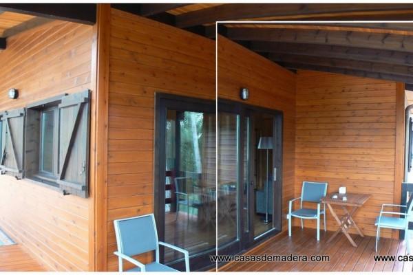 Casas de madera en Canadian Nordic House 8939