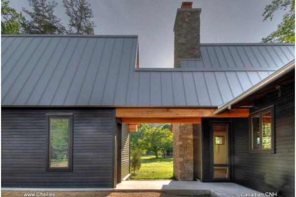 Casas de madera en Canadian Nordic House 8935