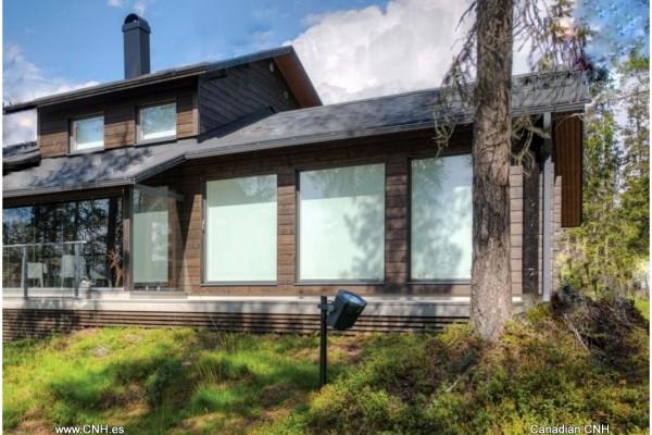 Casas de madera en Canadian Nordic House 8934