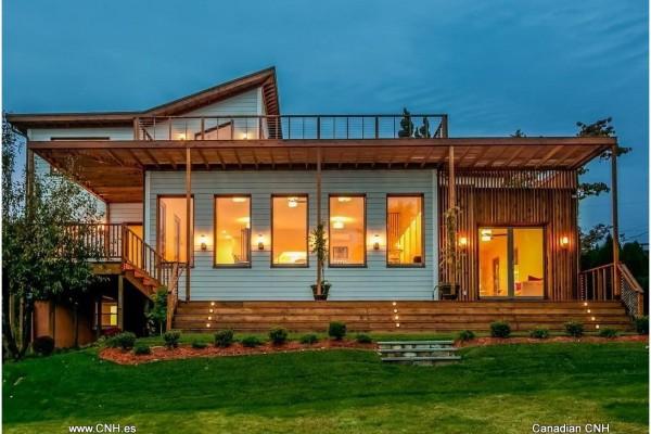 Casas de madera en Canadian Nordic House 8933