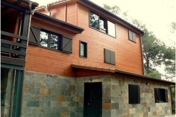 Casas de madera en Canadian Nordic House 8930