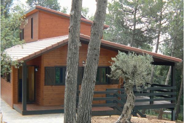 Casas de madera en Canadian Nordic House 8929
