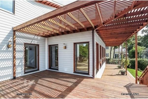 Casas de madera en Canadian Nordic House 8956