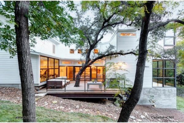 Casas de madera en Canadian Nordic House 8955