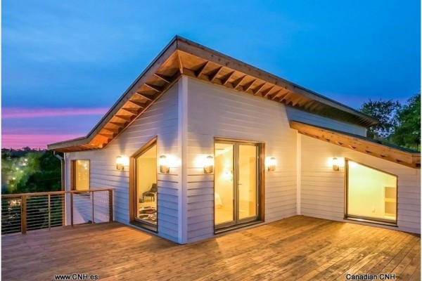 Casas de madera en Canadian Nordic House 8954