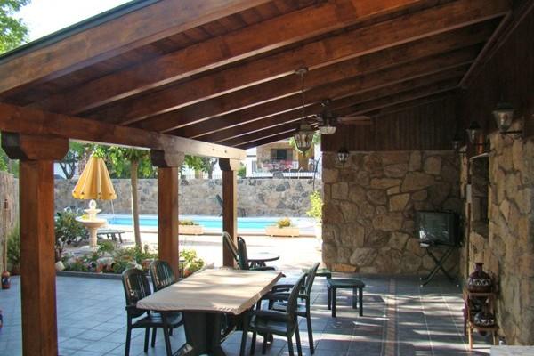 P rgolas porches y cenadores en 5scc viviendu - Porches de madera cerrados ...