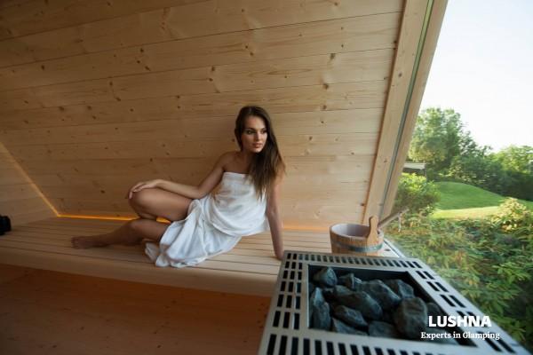 Cabañas de madera en Lushna glamping 11007