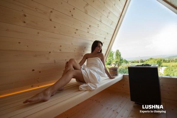 Cabañas de madera en Lushna glamping 11006
