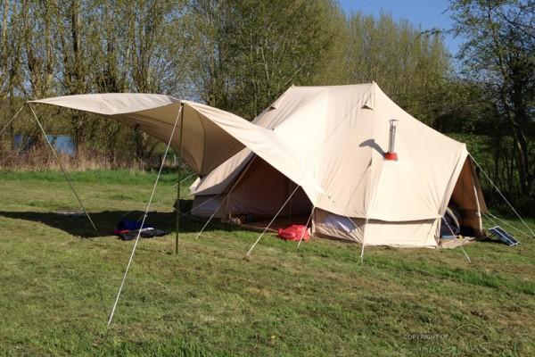Jaimas, Tipis y Yurtas en Bell Tent UK 10741