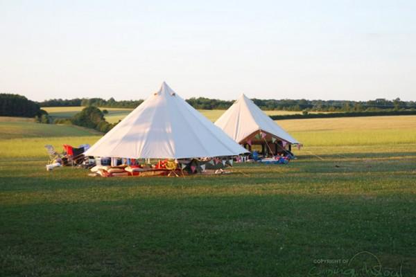 Jaimas, Tipis y Yurtas en Bell Tent UK 10740