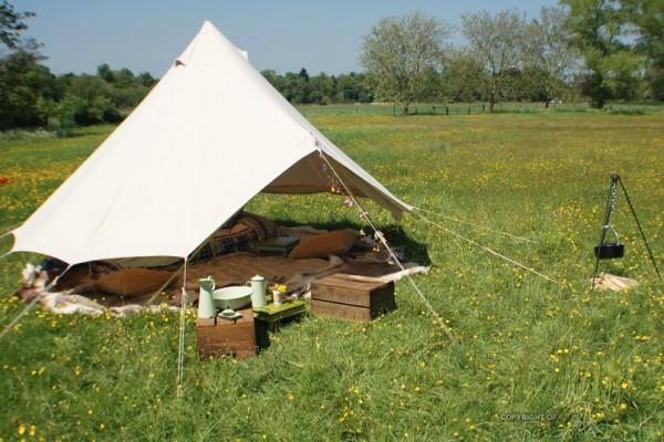 Jaimas, Tipis y Yurtas en Bell Tent UK 10738