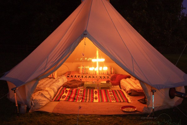 Jaimas, Tipis y Yurtas en Bell Tent UK 10735