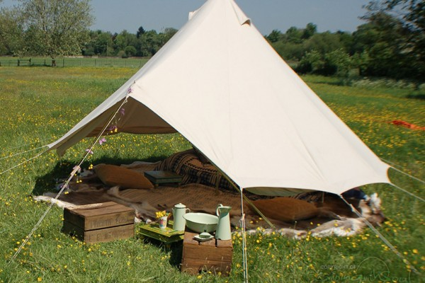 Jaimas, Tipis y Yurtas en Bell Tent UK 10723