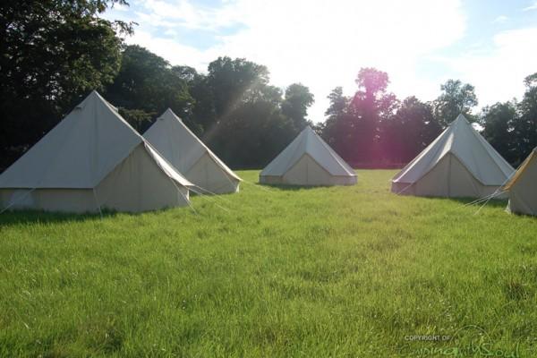 Jaimas, Tipis y Yurtas en Bell Tent UK 10722