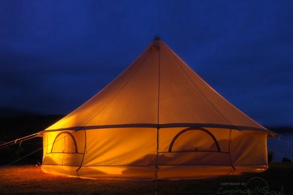 Jaimas, Tipis y Yurtas en Bell Tent UK 10721