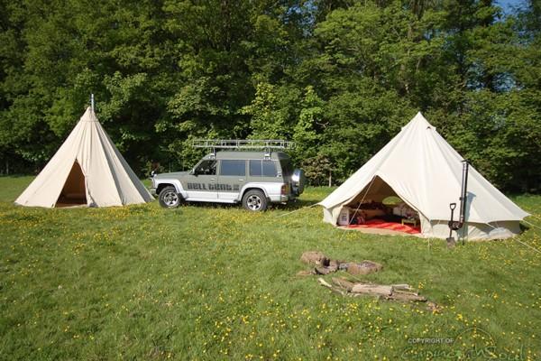 Jaimas, Tipis y Yurtas en Bell Tent UK 10720