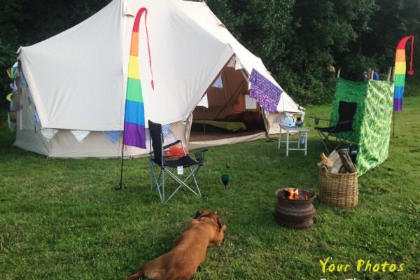Jaimas, Tipis y Yurtas en Bell Tent UK 10718