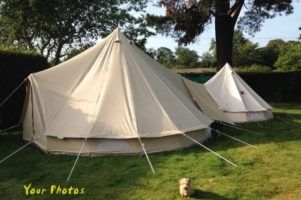 Jaimas, Tipis y Yurtas en Bell Tent UK 10717