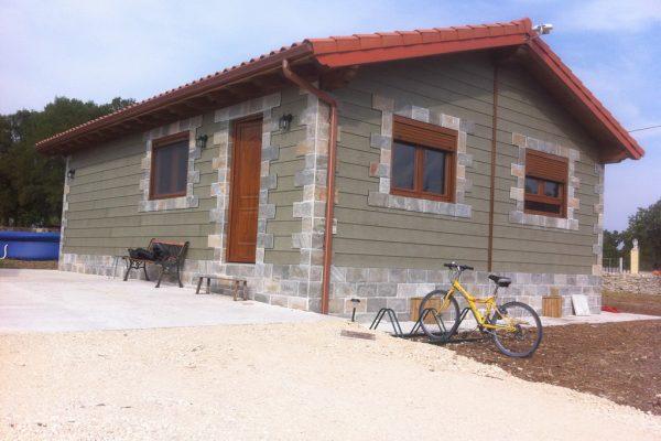 Casas de madera en Arabakasa 11705