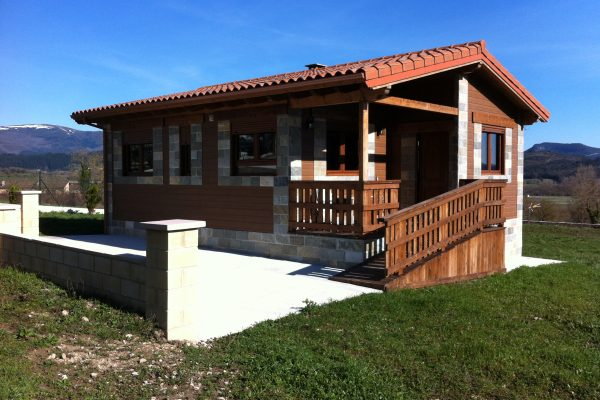Casas de madera en Arabakasa 11683
