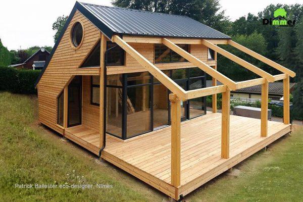 Casas de madera baratas viviendu for Casas de madera baratas