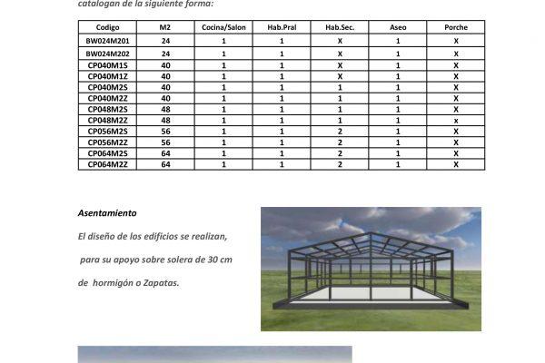 Casas modulares en Pro-Gal 11456