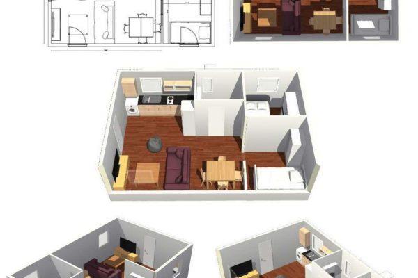 Casas modulares en Pro-Gal 11470