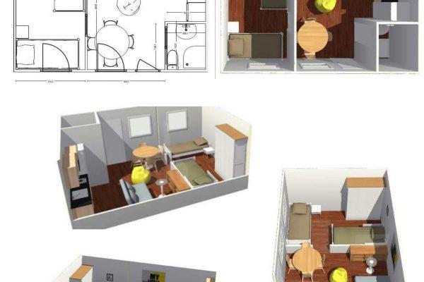 Casas modulares en Pro-Gal 11468