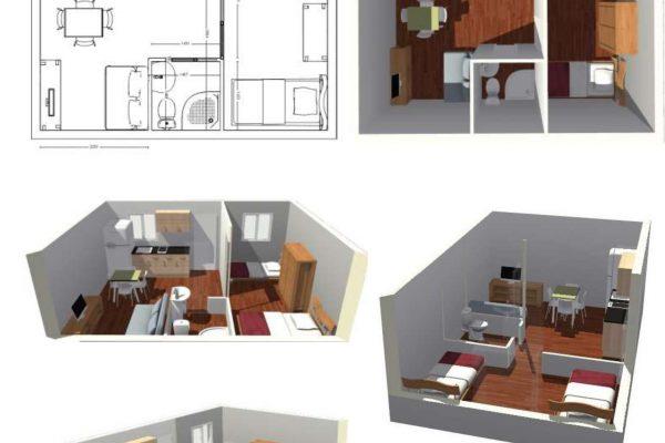 Casas modulares en Pro-Gal 11467