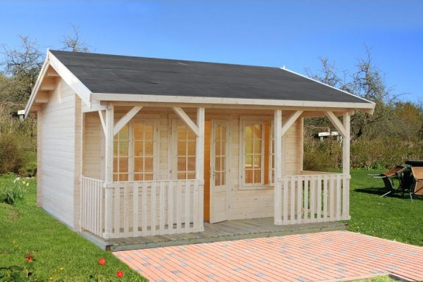 Casas de madera baratas viviendu for Casetas jardin resina baratas