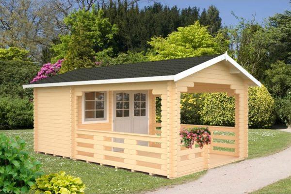 Casetas de madera en Hortum 11316
