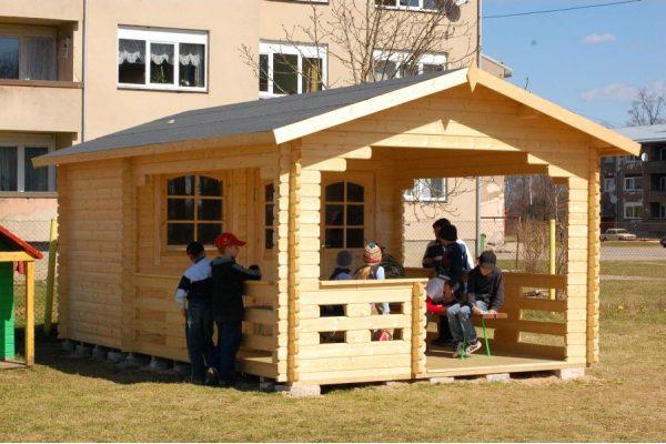 Casetas de madera en Hortum 11314