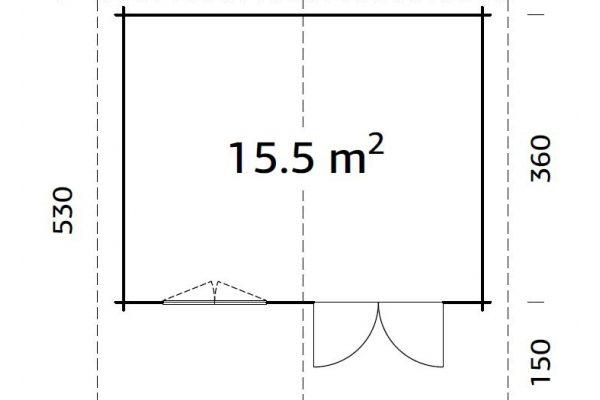 Casetas de madera en Hortum 11308