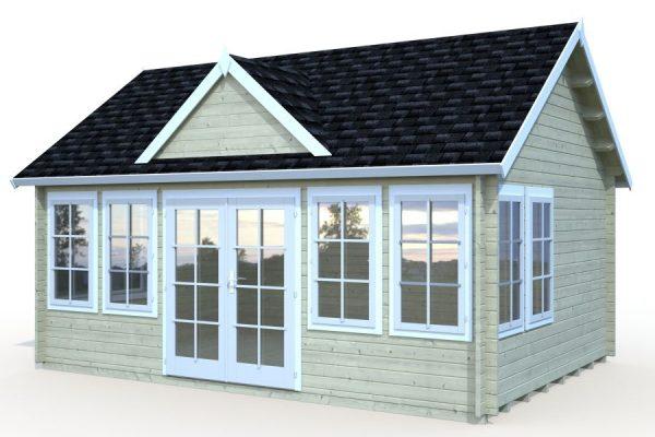 Casetas de madera en Hortum 11304