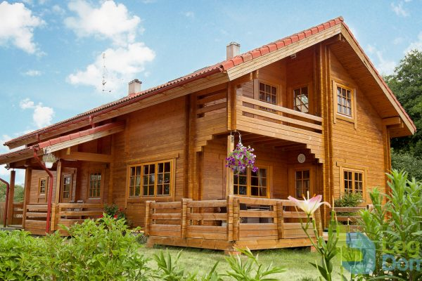 Casas de madera en PALMATIN 12078