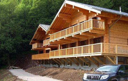 Casas de madera en PALMATIN 12079