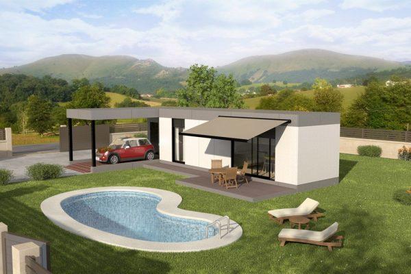 Casas modulares en Teccmo 12624