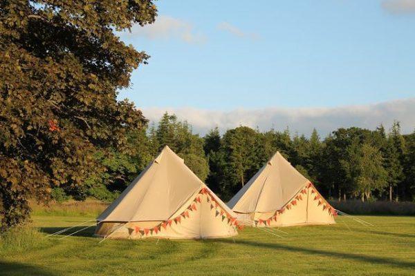 Jaimas, Tipis y Yurtas en Rowan Tree Tents 12830