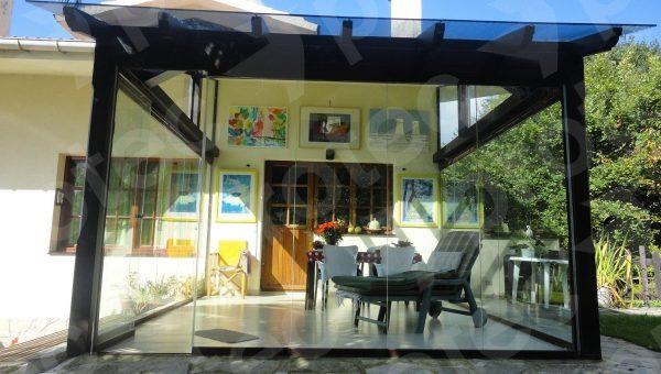 P rgolas porches y cenadores en protec madera viviendu - Pergolas y porches ...
