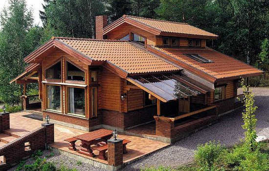 Casas de madera en Casas de Madera Económicas 13169