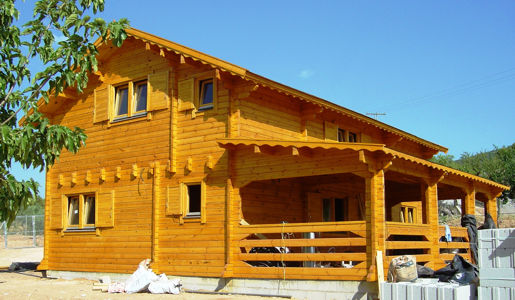 Casas de madera en Casas de Madera Económicas 13164