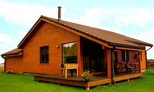 Casas de madera en casas de madera econ micas viviendu - Casa madera economica ...